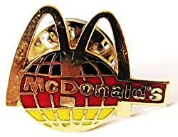 Mc Donalds - Logo - Deutschland - Pin 20 x 15 mm