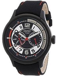 Esprit Herren-Armbanduhr XL Analog Quarz Leder A.ES102851004