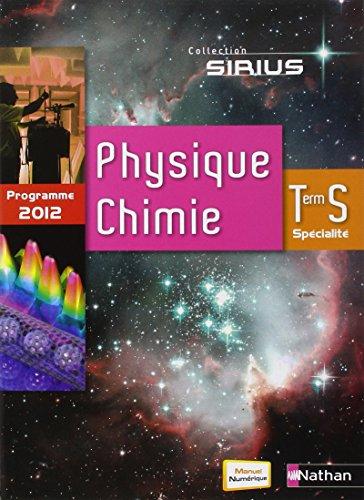 Physique-Chimie Term S spcialit