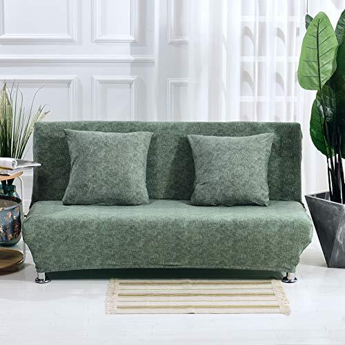 Monba - Funda de sofá Cama con patrón de Lino