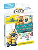 Totum 710030 Minions Stickerbox, Glitzer 3D-Aufkleberboge