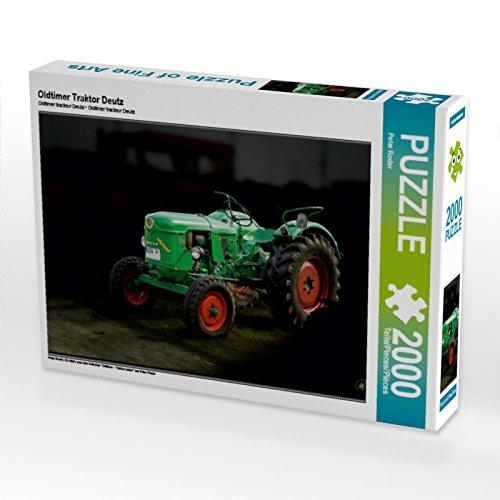 CALVENDO Puzzle Oldtimer Traktor Deutz 2000 Teile Lege-Größe 90 x 67 cm Foto-Puzzle Bild von Peter Roder