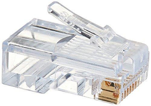 Platinum Tools 100003C EZ-RJ45 Verbindungsstücke, Klemmgehäuse, 50 Stück -