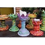 Kerzenständer, Kerzenhalter aus Pappmache