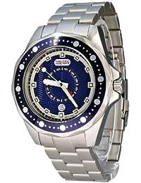 Nautec No Limit Herren-Armbanduhr Orca OC QZ-GMT/STSTBLBL