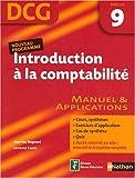 Introduction à la comptabilité DCG9 : Manuel et applications