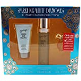 Sparkling White Diamonds By Elizabeth Taylor For Women 2 Piece Set Includes: 1.7 Oz Eau De Toilette Spray + 1.7...