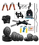 #10: Bodyfit 30KG Weight Plate gym Home Gym dumbell set.