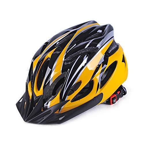WenYOUNG - Casco de Ciclismo para Adultos con protección de Seguridad Ajustable y Ligero para Hombres y Mujeres