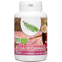 Cola de Caballo Organica - 200 tabletas de 400 mg