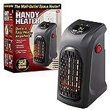 Wonder Heater Pro Presa a parete portatile Plug-in Riscaldatore elettrico Ventilatore riscaldante Radiatore caldo per tavolo da ufficio per la casa Dormitorio [Classe energetica A]