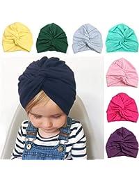 Cappelli bambino neonato bambino moda carino cappello sciarpa ragazzo  ragazza cotone croce India cappello per Daily 88ce7fa6ceb8