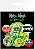 GB Eye LTD, Rick and Morty, Quotes, Badge Pack