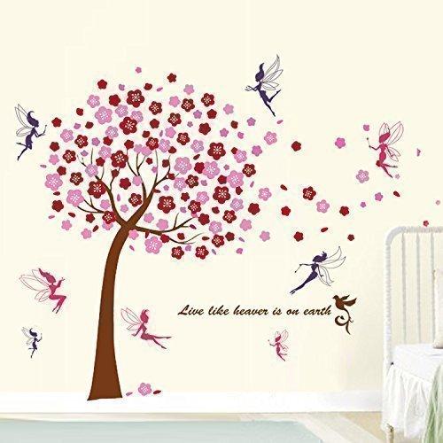 walplus-decorazione-murale-adesiva-per-cameretta-bambini-motivo-albero-fatina