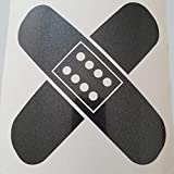 folien-zentrum Pflaster Metallic Anthrazit Shocker Hand Auto Aufkleber JDM Tuning OEM Dub Decal Stickerbomb Bombing Sticker Illest Dapper Fun Oldschool