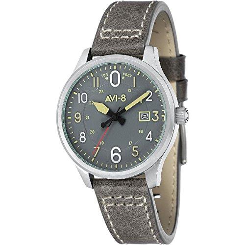AVI-8 -Hawker Hurricane -Reloj de cuarzo estilo aviador para hombre - AV-4053-03