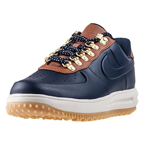 Chaussures de Course Pour Hommes Lunar Force One LF1 Duckboot Low obsidian/obsidian- saddle brown