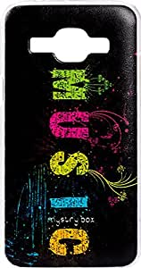 Purple Eyes Exclusive Designer Printed Back Cover for Samsung Galaxy J1 Ace (Music World)