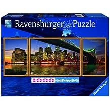 Ravensburger - Panorama tríptico: Skyline, puzzle de 1000 piezas (19906 8)