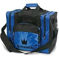 Brunswick Edge 1-Ball-Bowling-Tasche für 1 Bowlingball, Bowlingschuhe und Bowlingzubehör