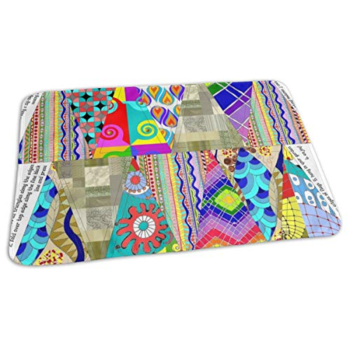 Portable Changing Kit (Wiccked Prayer Flags FQ Kit Baby Portable Reusable Changing Pad Mat 19.7x27.5 inch)