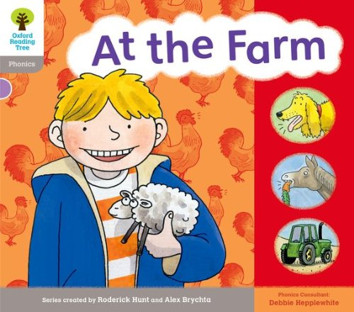 Oxford Reading Tree: Floppy's Phonics Stage 1. At the Farm (Floppy's Phonics Readers)