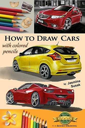 how-to-draw-cars-with-colored-pencils-from-photographs-in-realistic-style-learn-to-draw-ford-focus-s