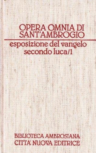 Opera omnia: 11\1 por Ambrogio (sant')
