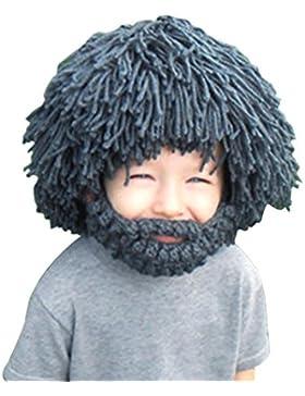 Vandot Inverno caldo Cappuccio Caps Cappello Earflap Fox scialli di lana lavorato a maglia cappelli della protezione...