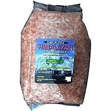Amazing Health - 2kg Sal Granulada del Himalaya de Consumo Alimenticio para Molinillo de Sal