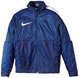 NIKE Jungen Jacke Graphic Woven Lightweight, Blue Force/White, XS