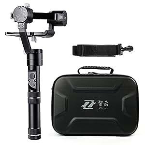 Zhiyun Crane m 3assi brushless palmare Gimbal con controller wireless e supporto per telefono–rotazione di 360gradi illimitato 12ore di autonomia per smartphone/Action Camera/DC/mirrorless