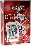 Cartamundi Diamond Poker Set Carte Poker, Carte da Gioco, Gioco di Società, Astuccio Rosso