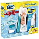 Scholl Elektronisches Nagelpflegesystem Velvet Smooth + nährendes Öl für Nägel