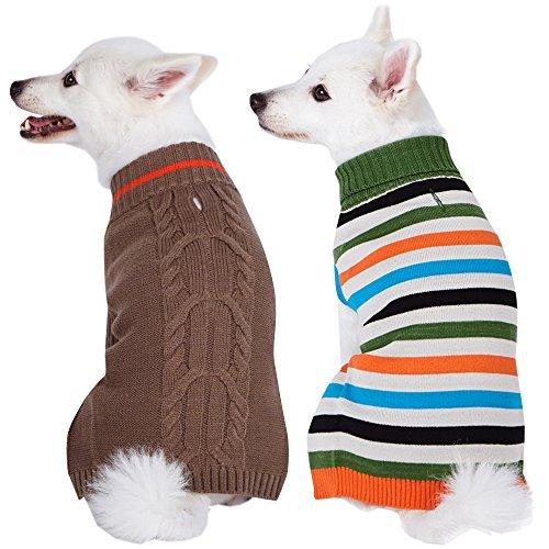 Blueberry Pet Doppelpack Kleidung für Hunde 12