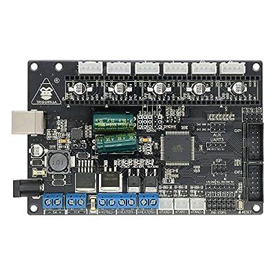 3D Printer ANYCUBIC TriGorilla Integrated Main board Compatible Mega2560 & RAMPS1.4 Combo Control Board 4 Layers PCB Controller Board for RepRap Mendel Prusa I3