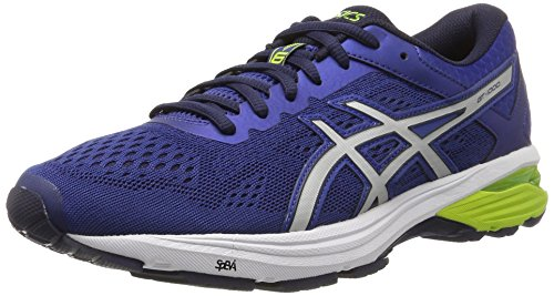 Asics Gt-1000 6, Men's Competition Running Shoes, Blue (Limoges/Silver/Peacoat), 10.5 UK (46...