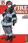 Fire Force, tome 5 par Okubo