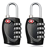 Best Samsonite Lock Keys - MIONI TSA Approved Luggage Locks Combination Lock, 4 Review