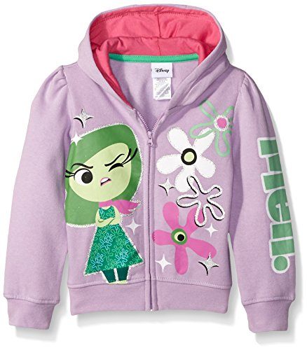 Inside Out Disgust Girls Toddler Hooded Sweatshirt 2T