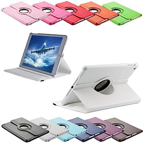 SVS-Trade 360 ° Tasche für Apple iPad 2/3 / 4 routierbar mit Ständerfunktion Schutz Smart Cover Case (iPad 2/3 / 4, Weiß)
