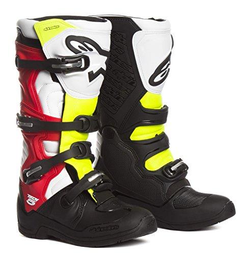 Alpinestars Motocross-Stiefel Tech 5 Schwarz Gr. - Akkordeon-unterstützung
