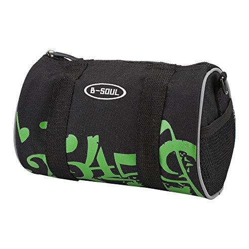 Fahrrad Tasche Fronttasche Mountainbike Lenkertasche Radsport Rahmentasche Green Number