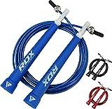 RDX Springseil Geschwindigkeit Gymnastik Fitness Verlieren Gewicht Einstellbar Fitnessstudio PVC...