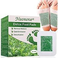 Parches Detox para Pies, Parches para Pies, 100% Naturales Ajenjo Detox Foot Pads, Parches Pies Desintoxicantes, Alivio del Dolor, Eliminan Toxinas Cuerpo Mejoran Sueño, Anti-Estres, 20PC