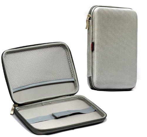 Navitech étui écrin, protection rigide avec fermeture éclair compatible avec Samsung Galaxy Tab 3 Kids Tablette tactile 7\