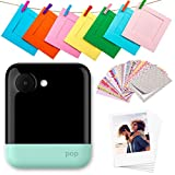 Polaroid POP 2.0 20MP Digitale onmiddellijke camera met 3,97 touchscreen-display, zink Zero Ink-technologie, druk 3,5 x 4,25 foto's, groen
