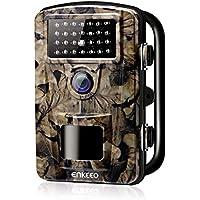 """ENKEEO PH700 Cámara de Caza 12MP, 1080P HD Trail Cámara, con IR LED para Visión Nocturna, IP 66 Resistente al Agua con 0.2s de Tiempo de Activación, 2.4"""" LCD Pantalla"""