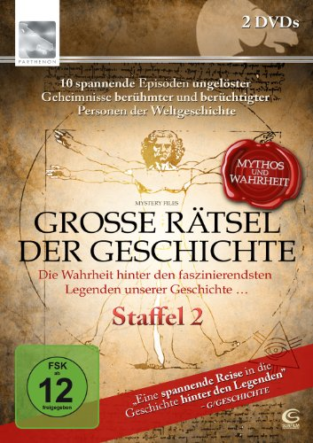 Große Rätsel der Geschichte - Mythos und Wahrheit?: Staffel 2 (2 DVDs)
