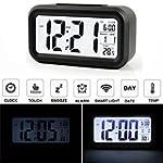 AUDEW LED LCD Digital R�veil Horloge...